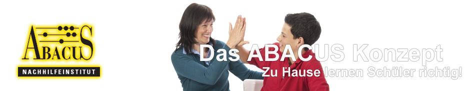 Das ABACUS Nachhilfe Konzept